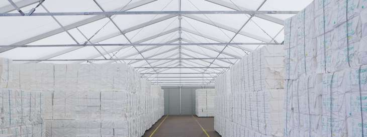 Lightweight halls, warehouses, prefabricated halls and storage tents for every need
