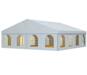 The W-TENTS range combines a conventional look with the latest, long-lasting materials and a sophisticated mounting system.